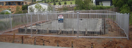 Pool Fences Meeting Australian Standards Abacus Pool Fence Hire When Safety Counts
